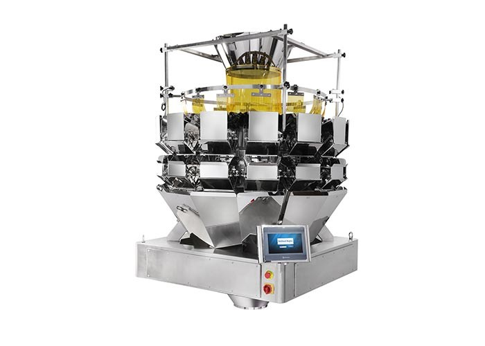 Vegetable Salad 5.0L Multihead Weigher Packing Machine